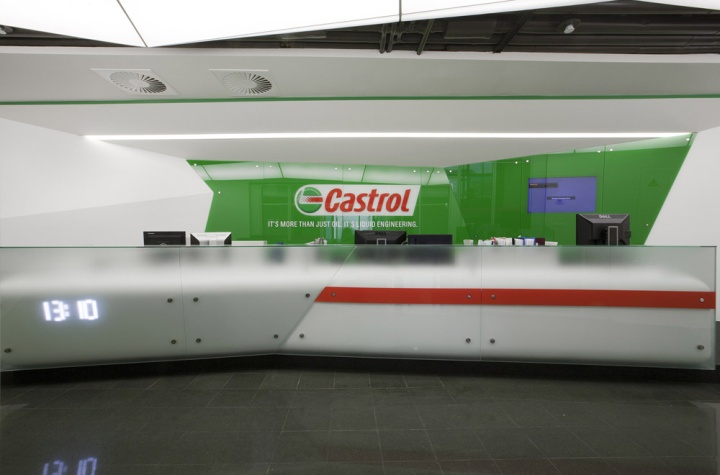 architects managed to implement the famous castrol bp castrol office design 5