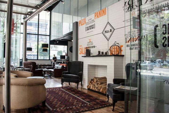 No 8 Restaurant Corner 8 Restaurantmob Mexico City  Mexico » Retail Design Blog