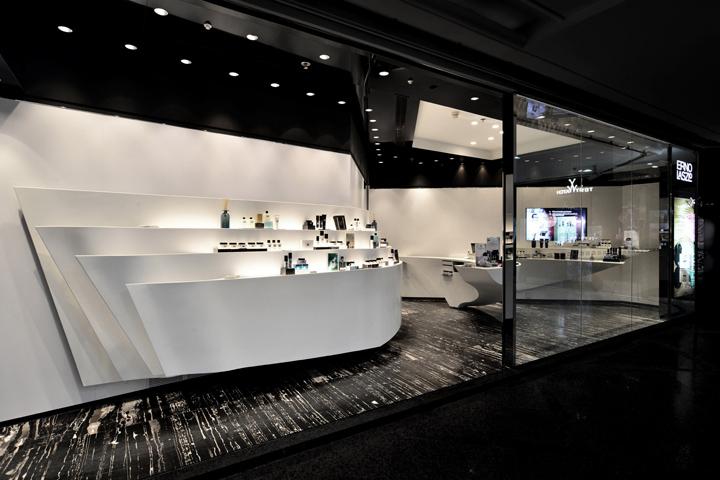 erno laszlo luxury boutique by fak3 hong kong retail design blog