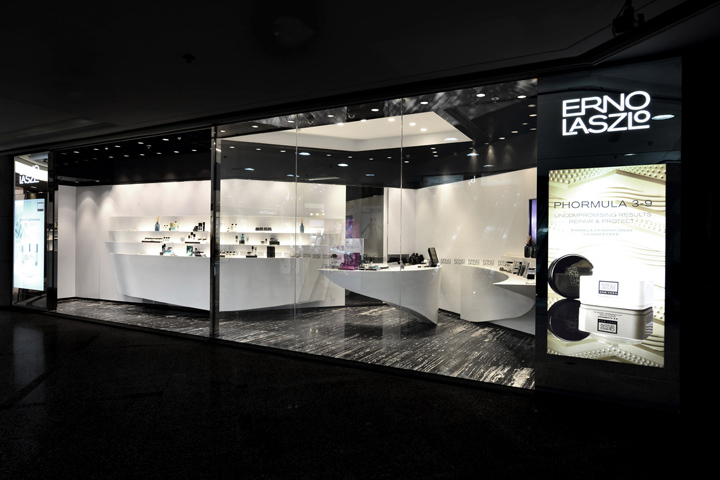 Erno laszlo luxury boutique by fak3 hong kong retail for Luxury boutique