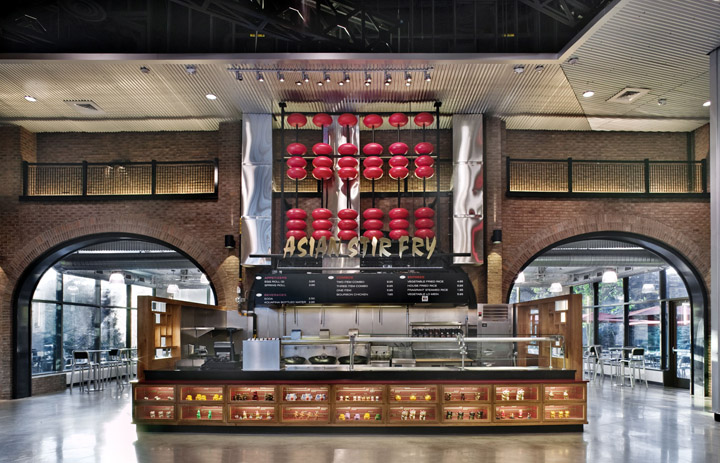 Food Court MGM at Foxwoods Casino by Chris Gonya