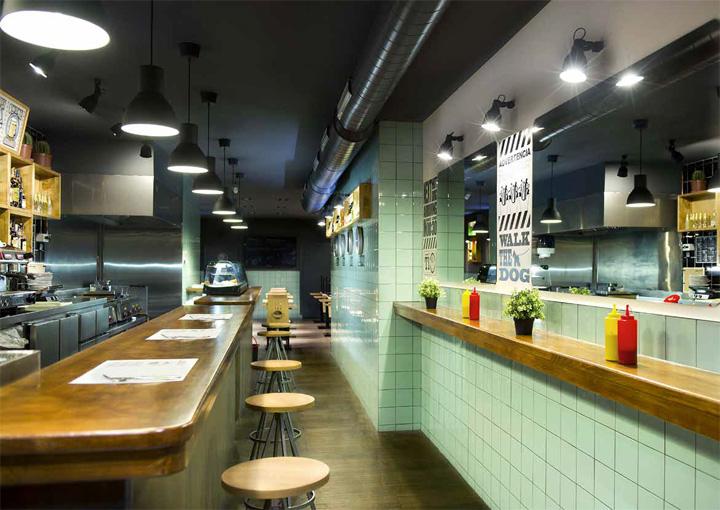 Frankfurt station fast food restaurant by egue y seta - Interior leather bar free online ...