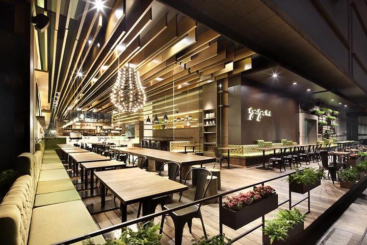 Gaga restaurant by coordinaton asia shanghai retail for Best restaurant exterior design