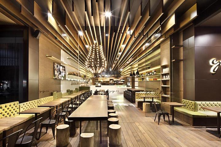 Wall shelves retail design