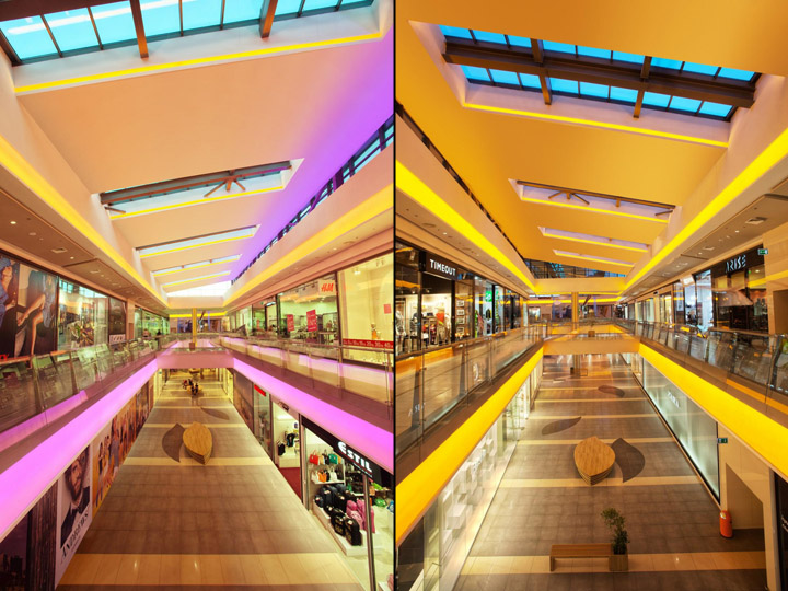 Delightful » Galleria Burgas Shopping Centre By Lighting Design Bulgaria 05 Amazing Ideas