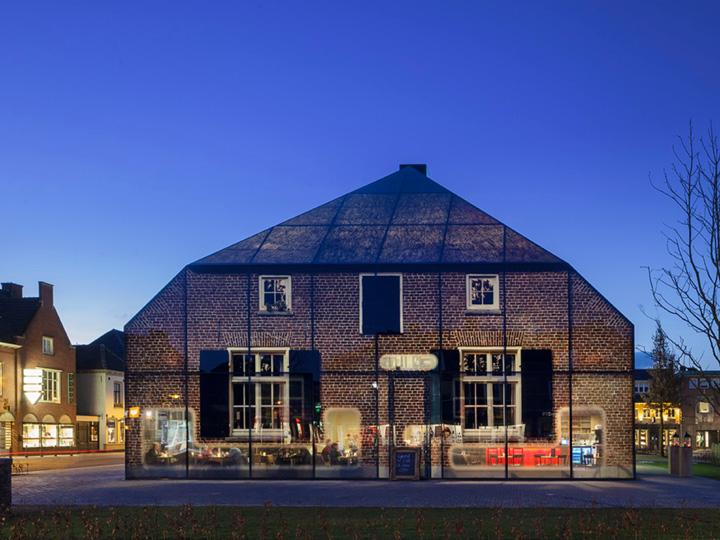 Glass farm by mvrdv schijndel the netherlands retail for Farm house netherlands