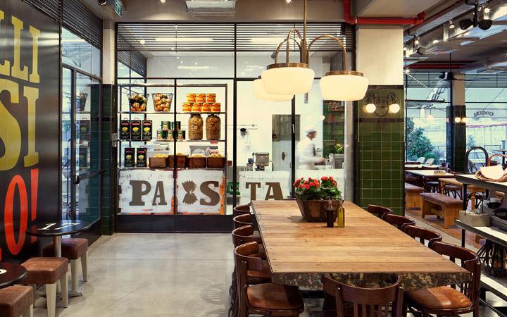 187 Goomba Restaurant By Dan Troim Petah Tikva Israel