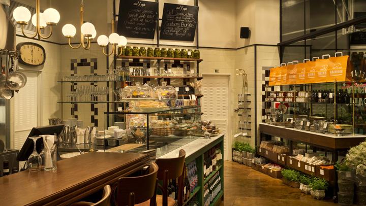 » Grinberg bistro deli café by Dan Troim, Tel Aviv – Israel