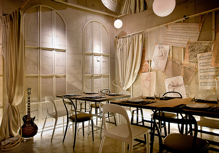 House of Salad restaurant by Metaphor, Bangkok