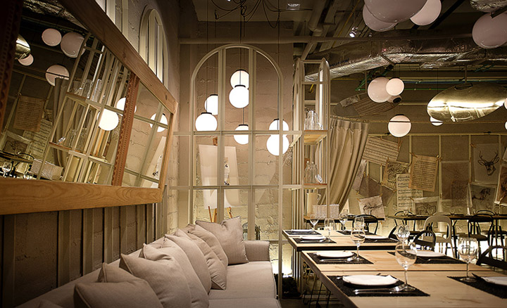 House of salad restaurant by metaphor bangkok thailand