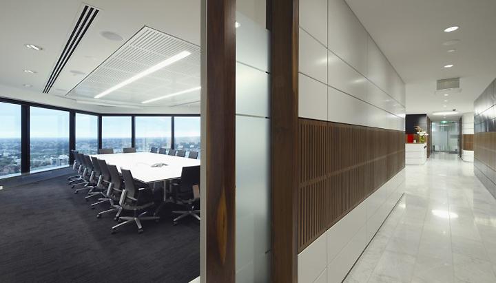 King wood mallesons office by hbo emtb brisbane australia for Office design brisbane