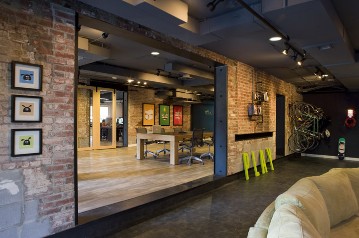 N clud office by wingate hughes architects washington d c for Urban interior designs