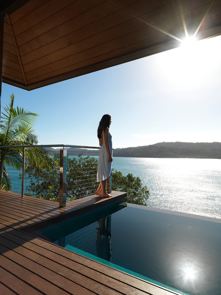 Qualia resort great barrier reef australia retail for Pool design hamilton