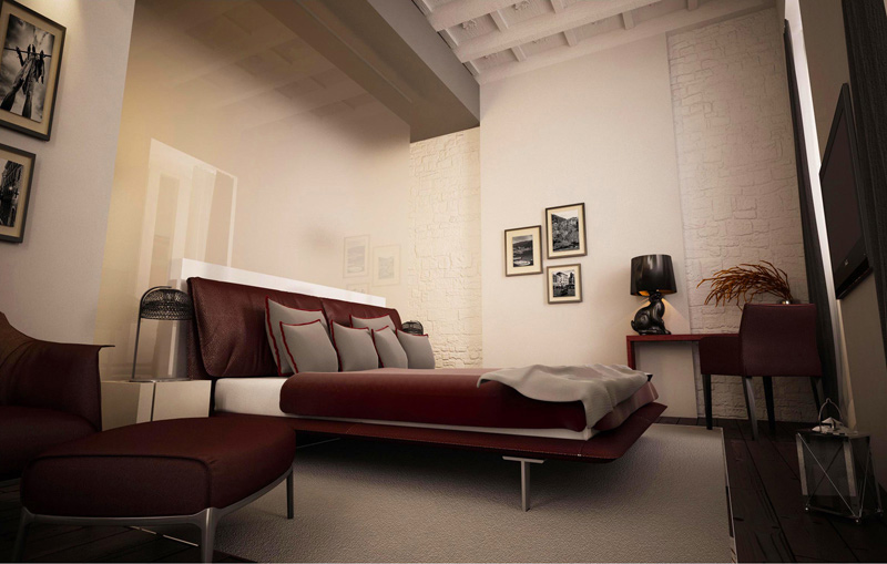 Rome juliet hotel by studio labark rome retail design for Hotel design rome