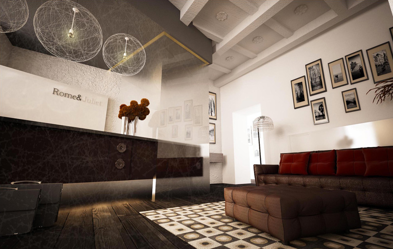 Rome juliet hotel by studio labark rome for Studio design roma