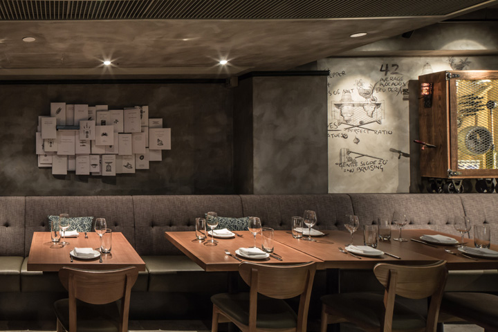 Sal curioso spanish restaurant by stefano tordiglione design hong kong retail design blog - Restaurant wall decor ideas ...