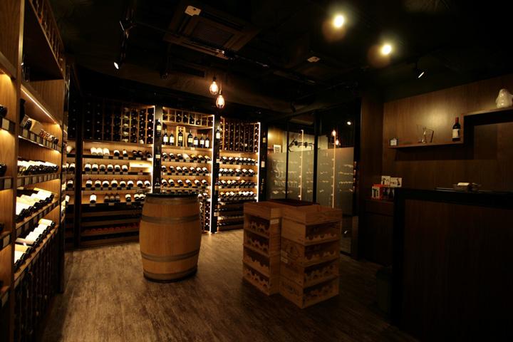 Posted ... & Sens Wine Cellar by PlotCreative Hong Kong » Retail Design Blog