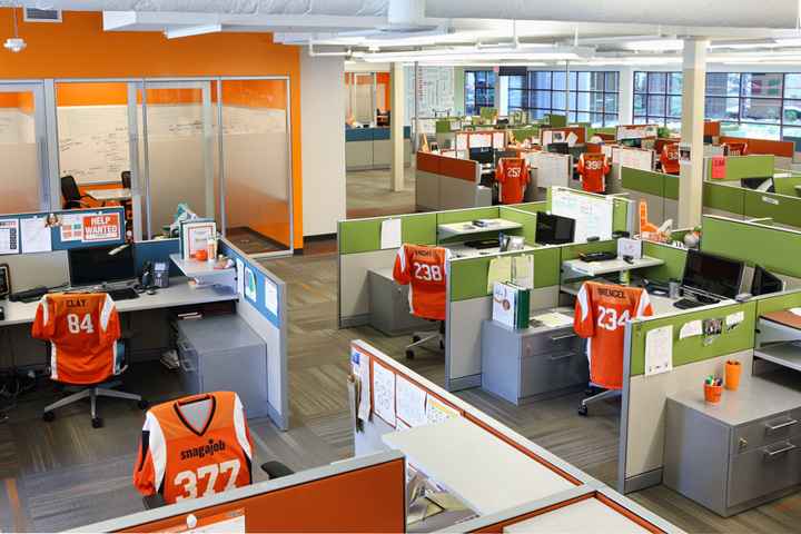 Headquarters Snagajob Headquarters By Baskervill Richmond Virginia Retail Design Blog