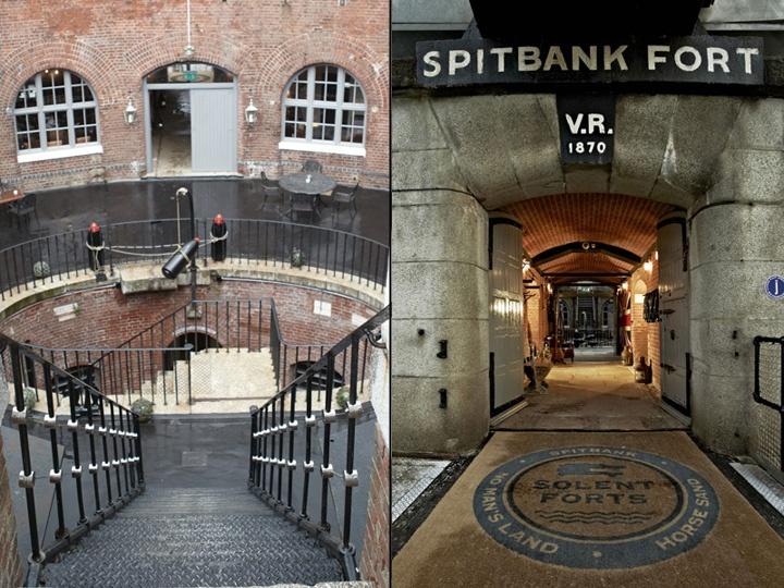 187 Spitbank Fort Hotel Gosport Uk