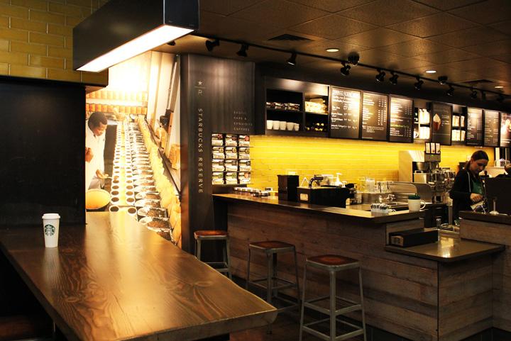 Starbucks Store Portland Oregon 187 Retail Design Blog