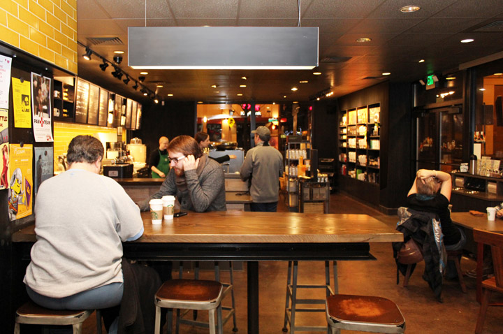 Starbucks Store Portland Oregon Retail Design Blog