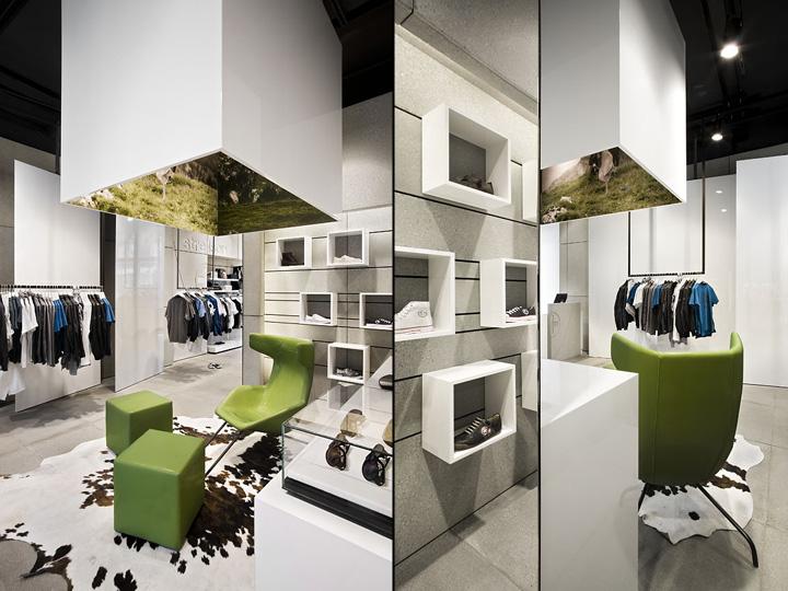 Blocher Blocher Partners strellson store by blocher blocher partners berlin retail design
