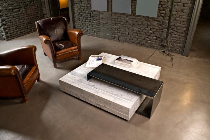 Http://blog.gessato.com/2013/06/03/ta_volo Marble Coffee Table  By Franz Siccardi For Salvatori/