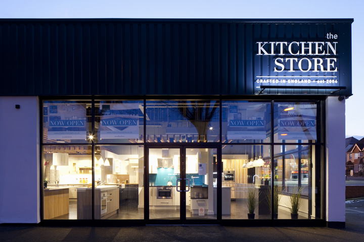 The kitchen store by designlsm hove uk retail design blog for Kitchen design shops