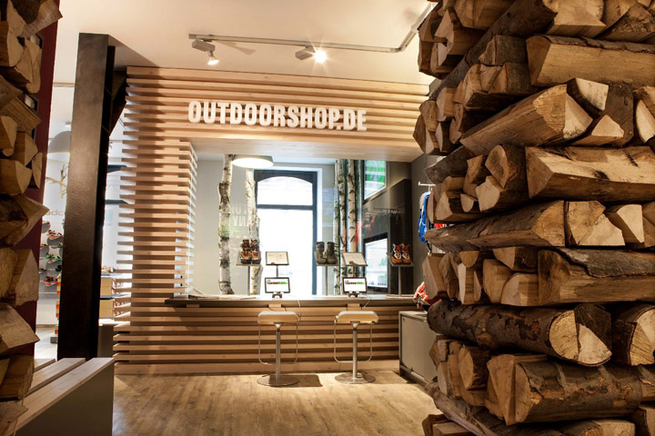 Adco outdoor store by k u l t objekt freiburg germany for Design shop deutschland