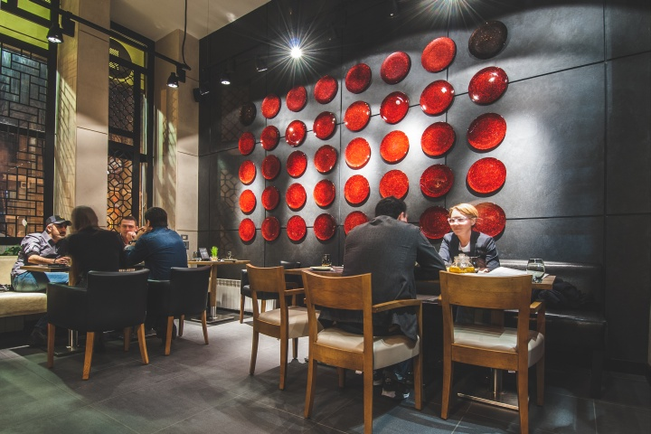 187 Barbacoa Restaurant Amp Bar By Dekart Studio Odessa Ukraine