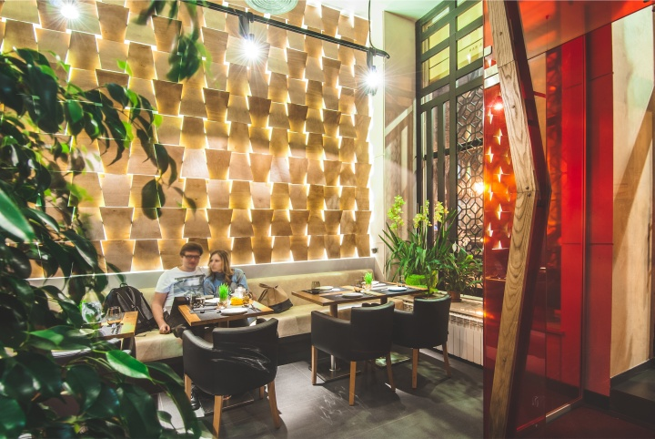 Barbacoa Restaurant Amp Bar By Dekart Studio Odessa
