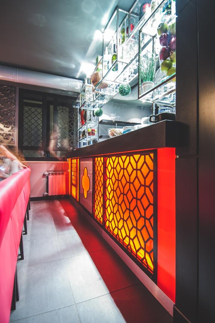Barbacoa restaurant bar by dekart studio odessa - Bar cuisine studio ...