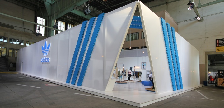 Exhibition Booth Pdf : Bread butter berlin summer adidas booth by mynt