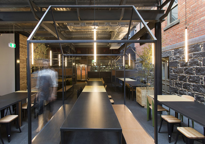 Captain melville restaurant by breathe architecture for Ristoranti design