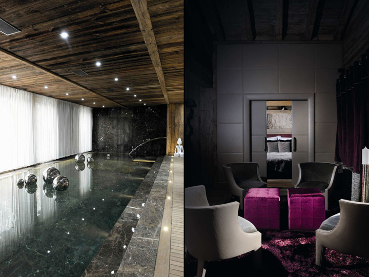 RUSTIC HOTELS! Chalet Brickell guesthouse by Pure Concept, Megève – France » ...
