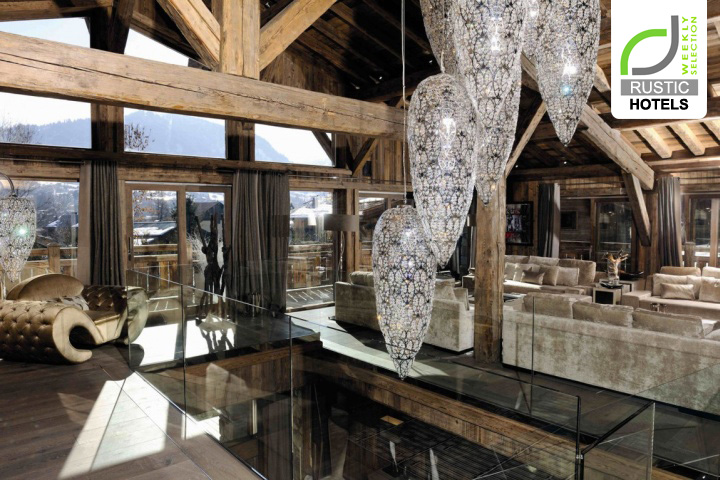 Rustic hotels chalet brickell guesthouse by pure for Hotels design en france