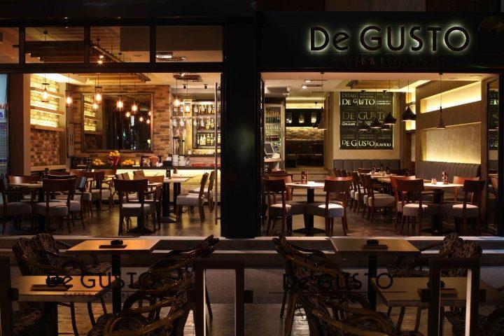 » De GUSTO cafe & restaurant by MIKA design, Novi Sad - Serbia