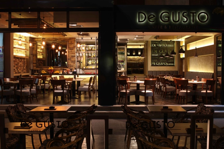 187 De Gusto Cafe Amp Restaurant By Mika Design Novi Sad Serbia
