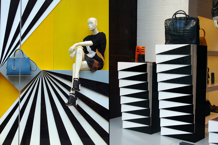 fendi window displays spring summer new york