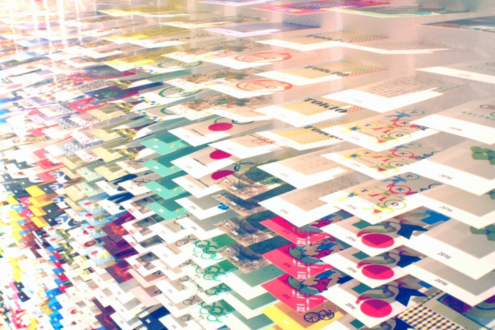 Forest of business cards gallery by twoplus a tokyo japan business cardsdotted colors reheart Images