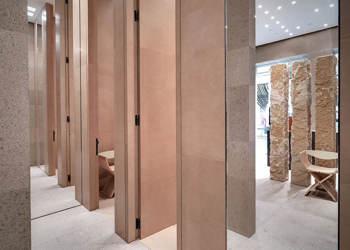 187 Giada Fashion Boutique By Claudio Silvestrin Milan Italy