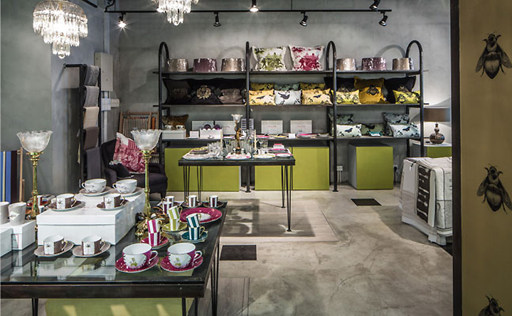 Grange interiors homeware boutique by stefano tordiglione for British homeware designers