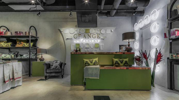 Grange Interiors Homeware Boutique By Stefano Tordiglione Design