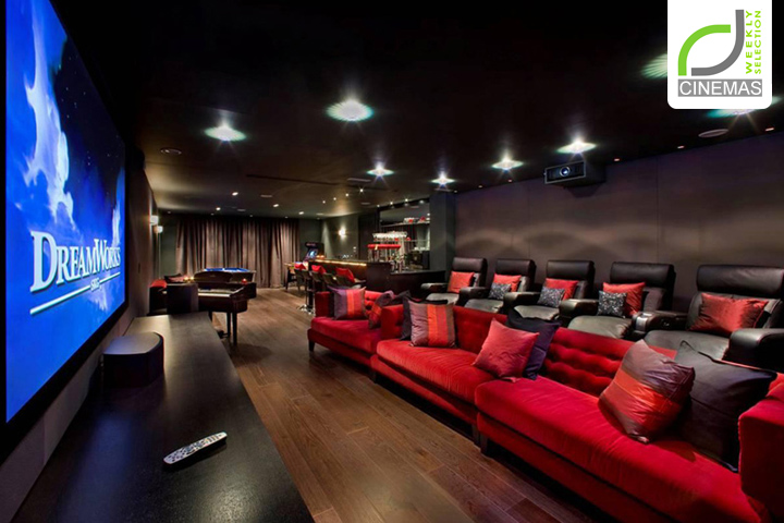 Cinemas Grange View Cinema Room By Harrison Varma London