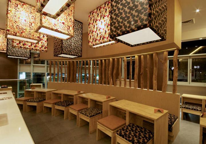Hana Hana Restaurant By Vie Studio Sydney Australia