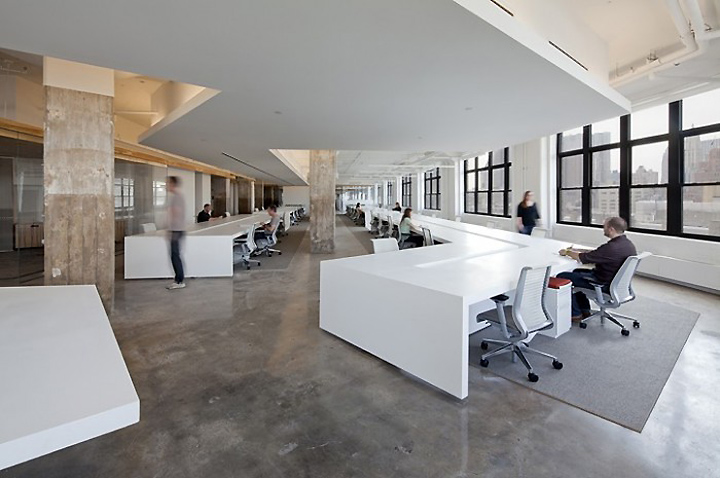 Horizon media offices by a i architecture new york for Office new design