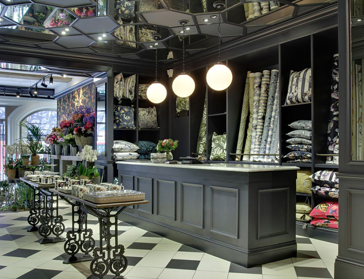 Victorian style retail design blog for House accessories stores