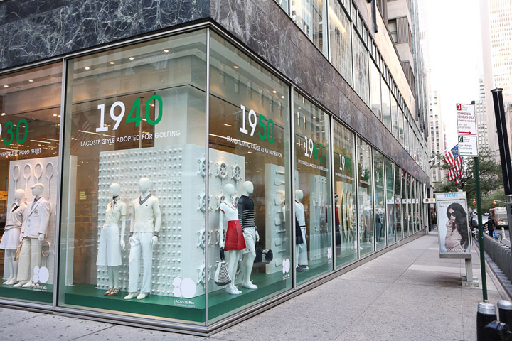fd9cc189896 Lacoste interactive windows by M Crown Productions