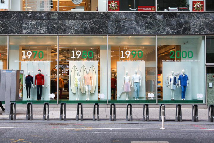 187 Lacoste Interactive Windows By M Crown Productions New York