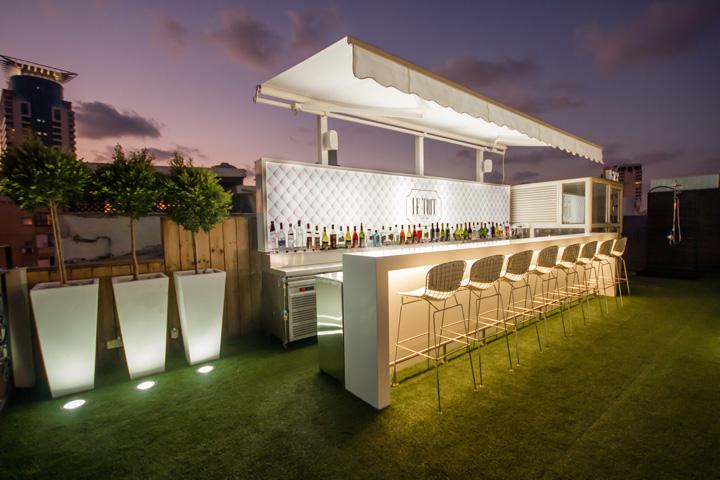 187 Le Toit Lounge Bar At Eden House Premier Hotel By Oron